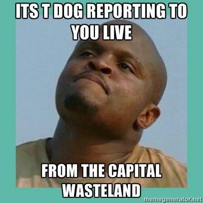 Capital Wasteland. . Lilllie tll J. Kuullut impairs/ aut.