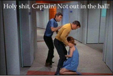Captain's Log, swalllowed!. .
