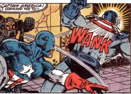 Captain America, Wanker,FAP FAP.. I command you to WANK!.. pretty funny roll 9 Captain America