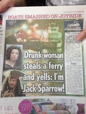 Captain...Jack sparrow. . rm Ill