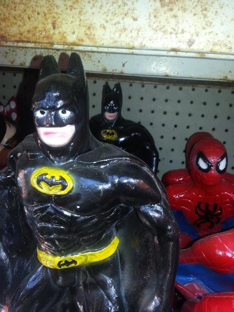 Caption this. .. The Downs Knight Rises. batman Spiderman