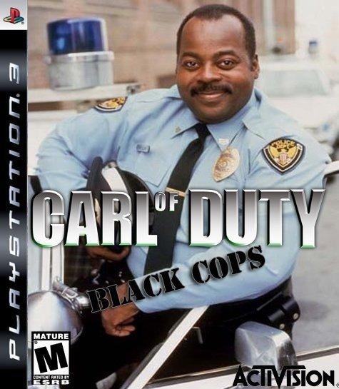 Carl on Duty. Hai.. Ill, ill iii'. Carl Winslow Is NOT A , He is a black man.