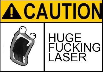 CAUTION!. i lol'd. HUGE. DOCTOR OCTAGONAPUS! BLAAAAARRRRRRRRRRG laza chargin my DaPingles caution