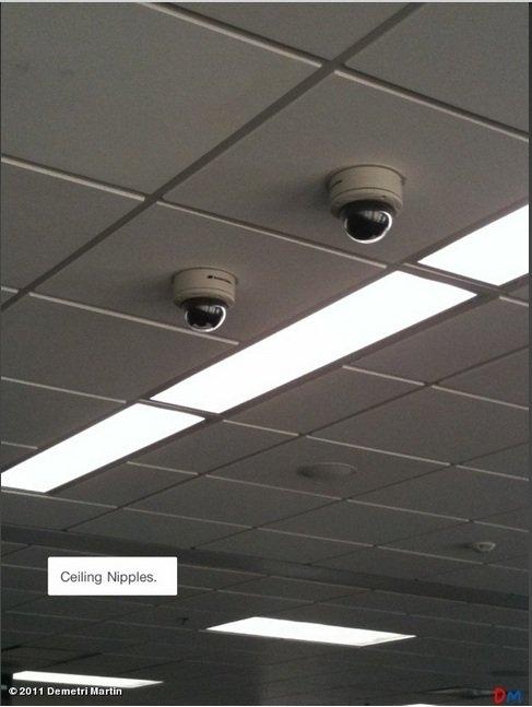 Ceiling Nipples. .