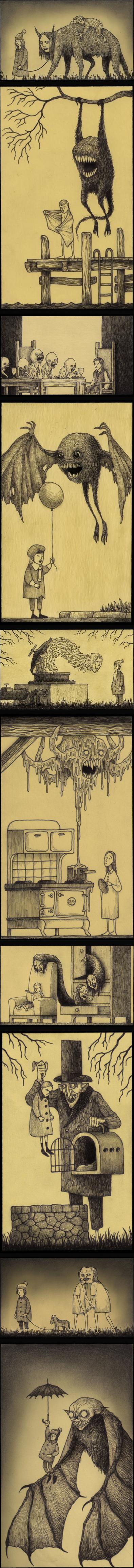 Children & Monsters. .. The stove looks like Bender.