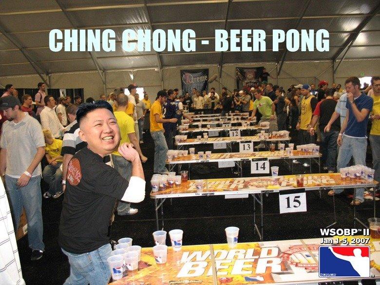 Ching Chong. CHING CHONG HARRO HARRO RAFF RAFF.