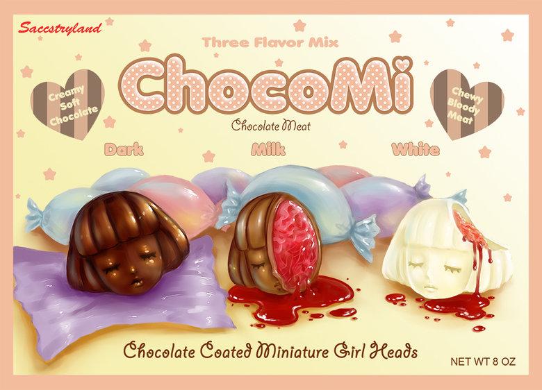ChocoMi. Art by Saccstary.