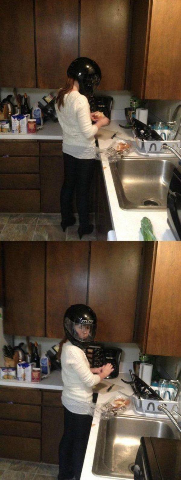 Chopping Onions. .. DAYZ IN ONE SHOT chopping onion helmet
