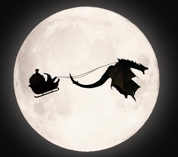 Christmas in Skyrim. Merry Christmas everyone!.
