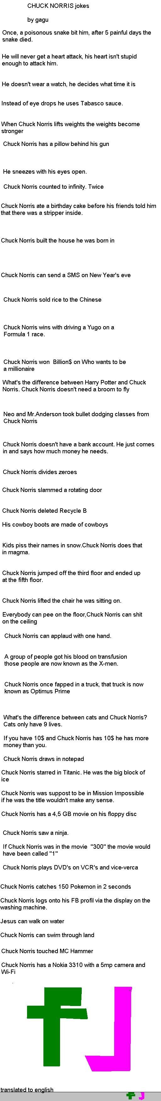 Pokemon Chuck Norris J...