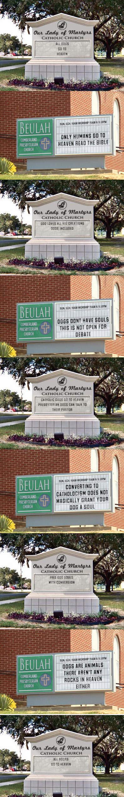 Church Fight. inb4 religious debates No I did not make, found it on fb. l DEE! III Wml' i Eliete Humans ilivid Hum HEM] THE BIBLE Hill Tot.': an HIE 'tli' inou'