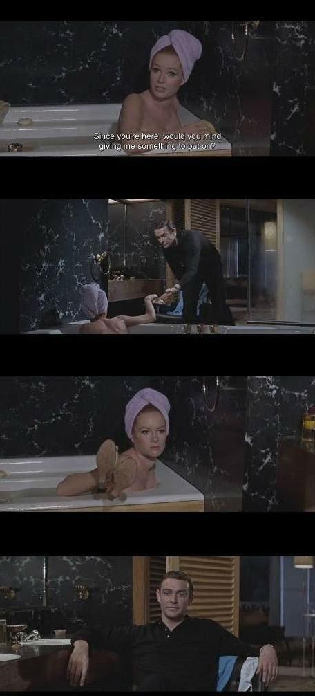 Classic Bond. I wanna watch this movie again..