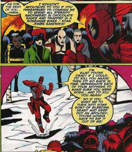 Classic Deadpool. . ita lehi: h' 'relese' A' ' Kirra REHAB