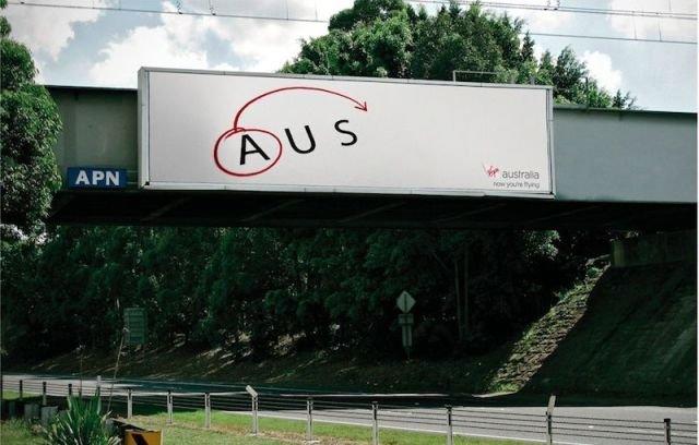 Clever advertisement. .. Couldn't resist asdasdasdasd