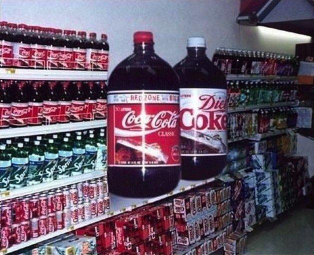 Coca Cola XXXXXL. Coca Cola XXXXXL .. I like how one is Diet Coke >.>