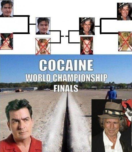 cocaine world championships. .
