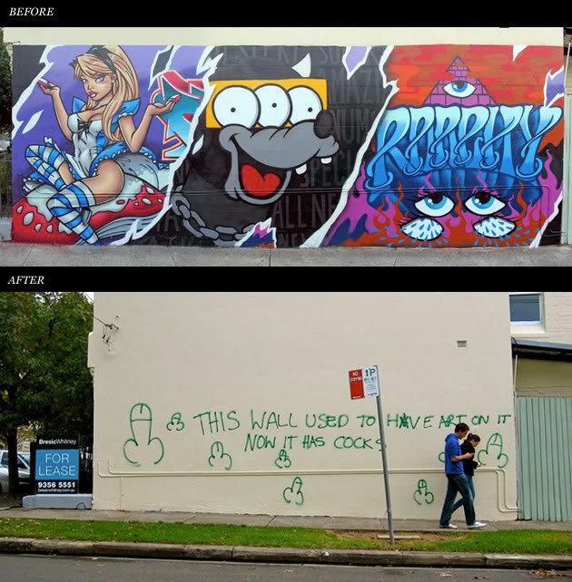 Cocks everywhere. . cock Art street Wall City