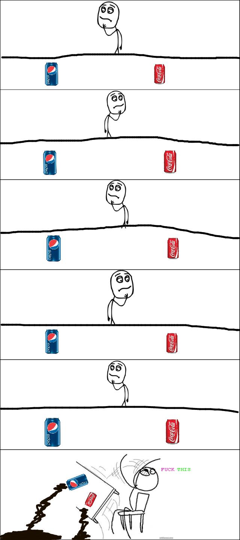 Coke&Pepsi. .