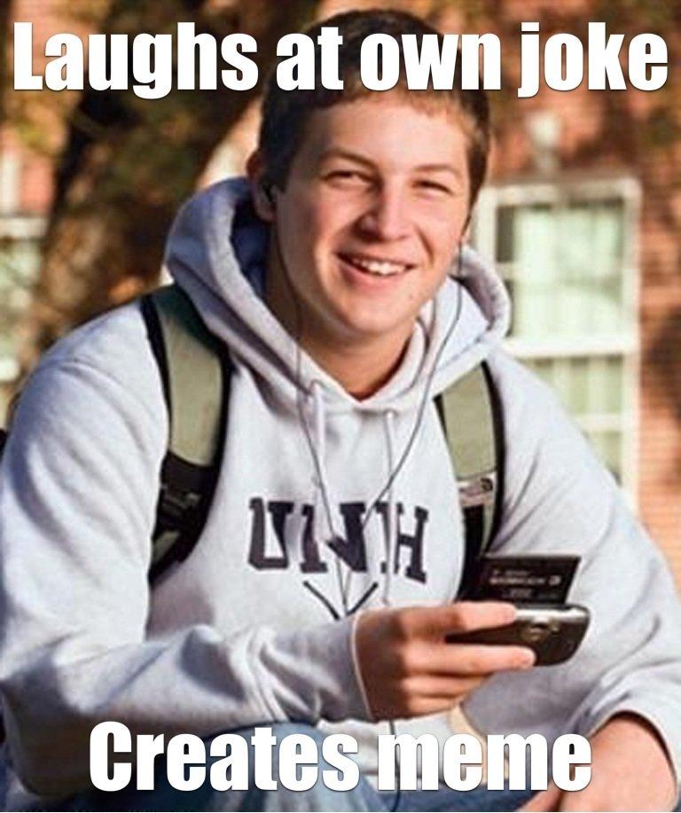 College freshamn. . College freshman meme