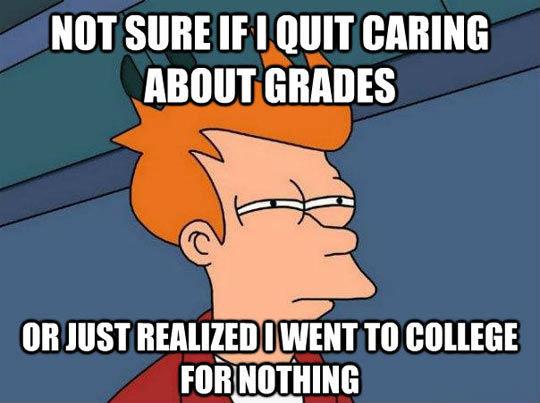 College. not OC,. Fry
