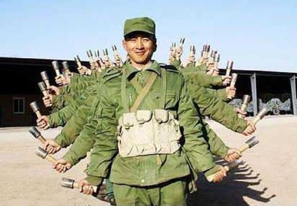 Come at me bro. Kim Jong Un's army. ninjas