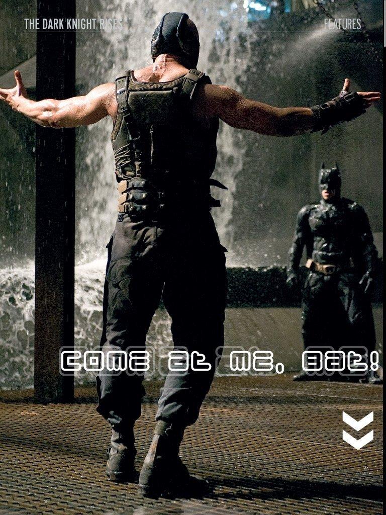 Come at me....bat?!. .