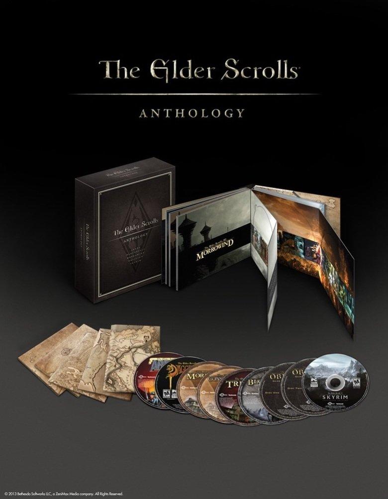 Coming September 10th. Too bad it's PC only, faggots. www.elderscrolls.com/anthology/.