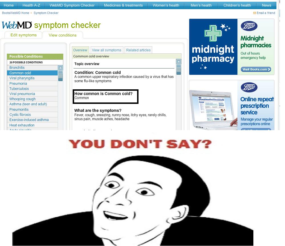 Common. . Home Health Welly' lel Symptom Checker 3. treatments Wohnen' s health Men' s health Children? health Home ' Symptom Checker El Emails friend l l/ symp