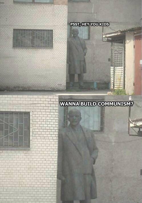 Communist statue. .. Looks harmless. >inb4 komjunism kild 300 trilion pipl