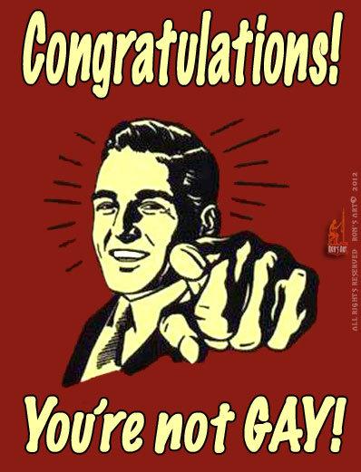 CONGRATULATIONS. OC...so happy for you!....lol. congratulations! Yo toire ttwtt MY!. I am gay and you hurt my feelings