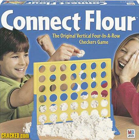 "Connect Flour. . conect Flour} Checkers Game """