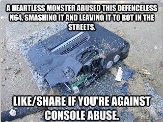 Console Abuse. . n mantras monsom NI um ' i. III