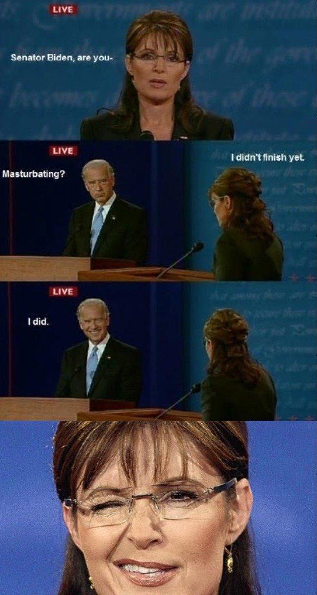 Conversation win. . Senator , in your I didn' t yet LIVE Masturbating? Idi