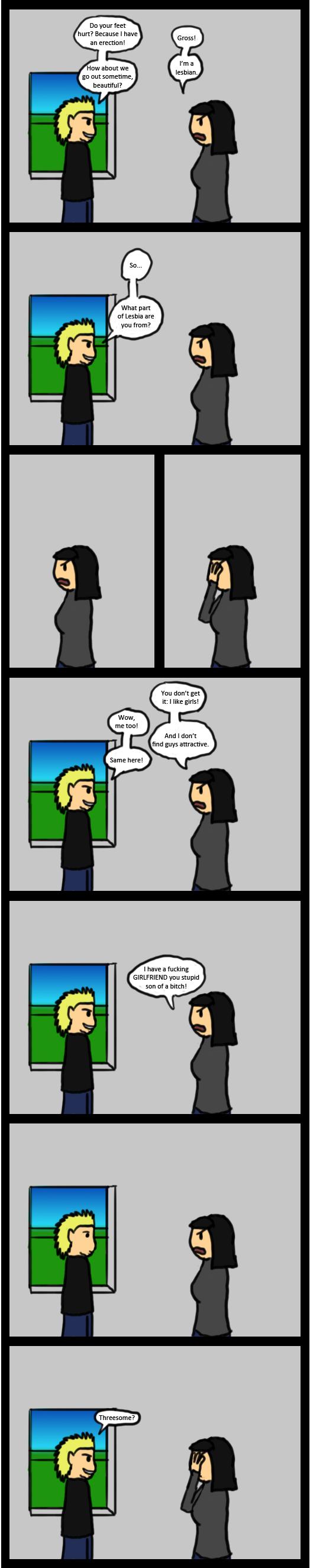 Lesbian Conversation 110