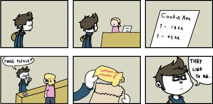 Cookie men. .. Please explain?