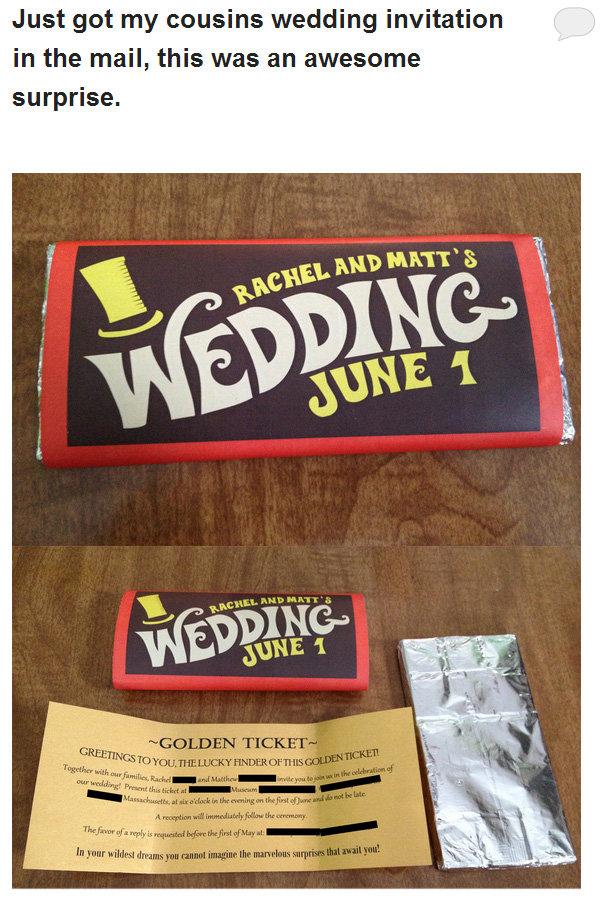 Coolest wedding invite ever. Jordan Carver is amazing... theleek.com/2013/01/cleave-land-jordan-carver-will-never-drown/. Just got my cousins wedding invitation