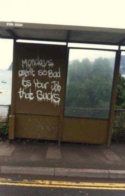 Correct. .. I'm in school. Mondays suck.