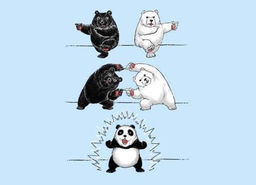 creation of a panda. .