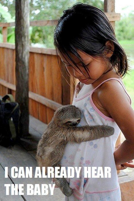 Creepy sloth. mah ms paint skills at it finest....