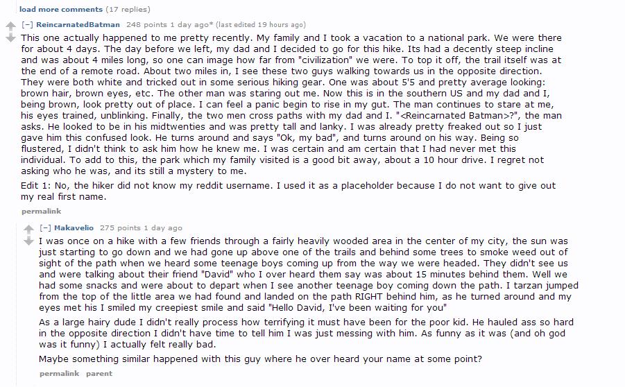 Creepy online dating short stories reddit