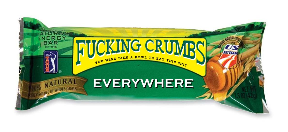 Crumb-bar. ....everywhere. crumb Bar wrapper