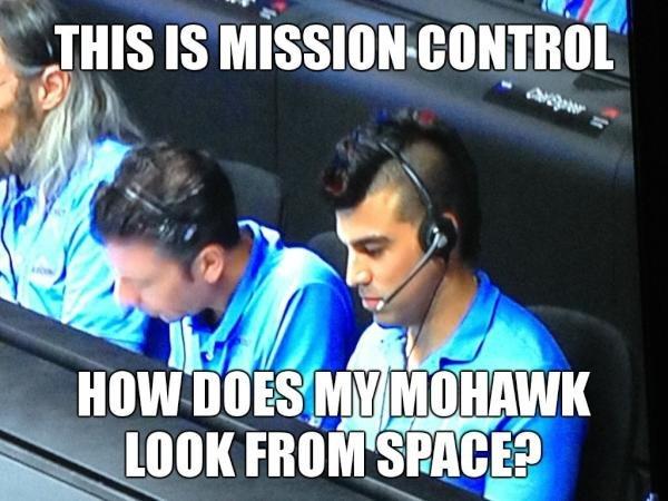"Curiosity Landing. SPACE N . Found on Twitter.. Ii'' HIS IS ' fflf. ""still gay."""