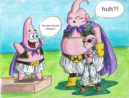 DBZ spongebob. I love DBZ! ._..