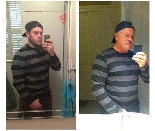 Dad and Son Selfie. Old School Selfie.. coolest dad ever. dad selfie FUNNYJUNK WTF