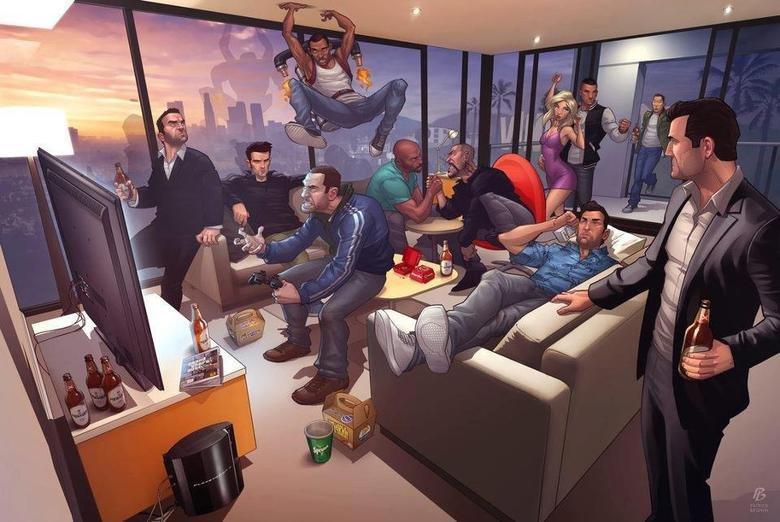 Dammit CJ!. Found on t'internet... Guys, Grand Theft Auto, Grand Theft Auto 2, Grand Theft Auto III, Grand Theft Auto IV, Grand Theft Auto: Episodes from Liberty City, Grand Theft Auto: San Andre