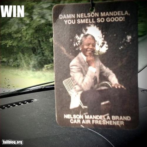 Damn Nelson!. Damn Mandela you so fine! You so fine you blow my mind! Non OC!.