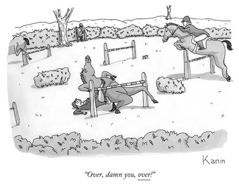 Damn Horse. . Over, damn you, mment''