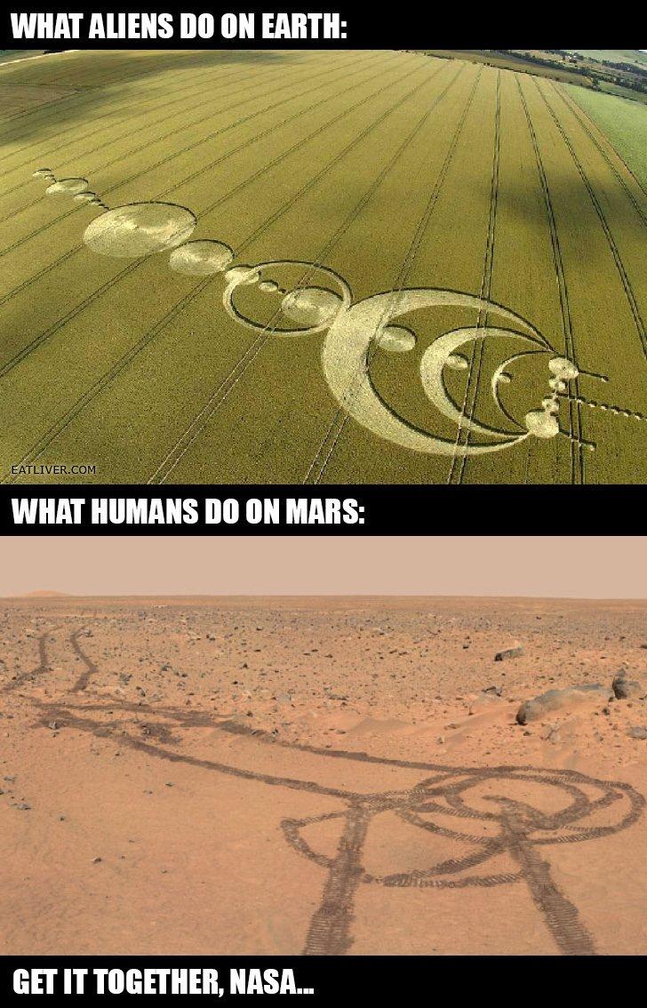 Damn it nasa. . WHAT III] III! EARTH: GET IT , NASA-. who knows