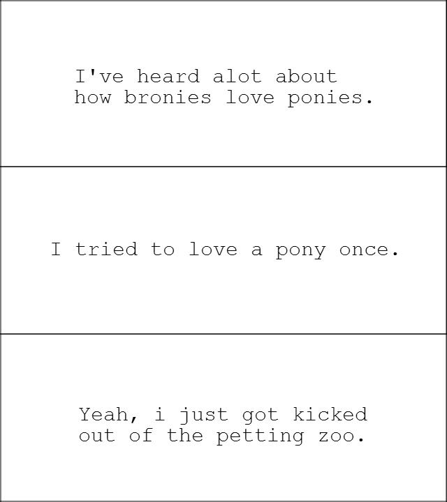 damn pony love. 100% OC.
