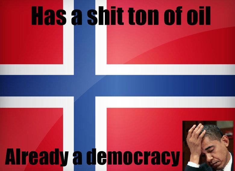 Damn you Norway!. . communist Bears are secretly aliens